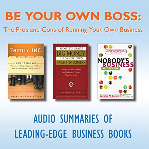 Be Your Own Boss  Audiolibri