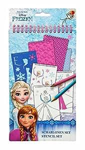 """UNDERCOVER UNDERCOVER Kit de pochoir """"Frozen"""", 34 pièces, petit"""