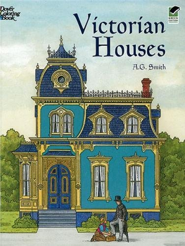 COLOR BK-VICTORIAN HOUSES (Dover Pictorial Archives) -