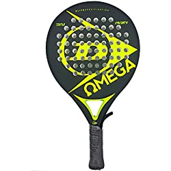 Dunlop Omega Pala Padel de Tenis, Unisex Adulto, Flúor, No Aplica