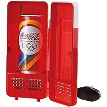 Winterworm coche Mini USB LED PC Nevera Nevera bebidas cola enfriador de latas de bebida alimentos