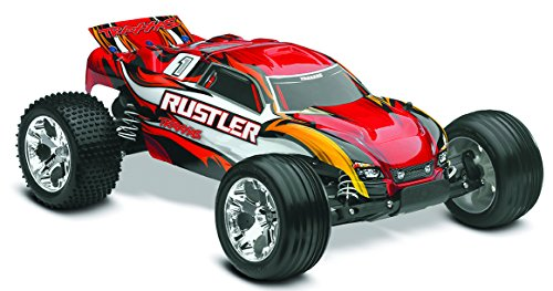 Traxxas - 2042097 - Voiture Radiocommandé - Rustler - Xl-5 - Ready To Race - Stadium Truck