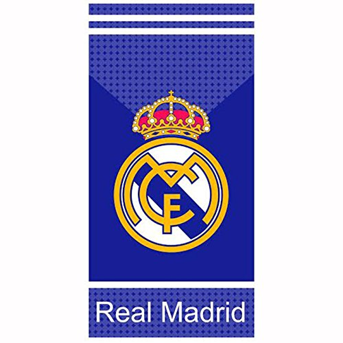 Real Madrid CF White Stripes toalla
