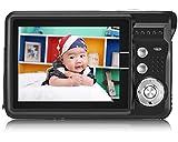 "Aberg Best 21 Mega Pixels 2.7"" LCD Rechargeable HD Digital Camera - Digital video camera - Students cameras - Handheld Sized Digital Camcorder Indoor Outdoor for Adult /Seniors / Kids (black)"