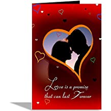 Love Is A Promise That Can Last Forever Valentines Day Greeting Card
