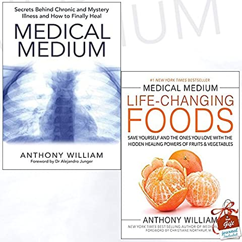 Medical Medium Anthony William Collection 2 Books Bundle With Gift