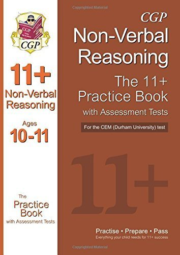 11+ Non-Verbal Reasoning Practice Book with Assessment Tests (Ages 10-11) for the CEM Test by CGP Books (2013-12-10)