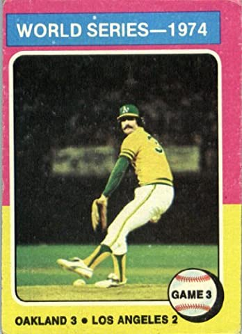 1975 Topps #463 Rollie Fingers Oakland Athletics Baseball Card In