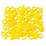 huertuer approx. 100 pcs/set colorful rings for birds and pigeon(random color) Huertuer Approx. 100 Pcs/Set Colorful Rings for Birds and Pigeon(Random Color) 515QiDKiLyL