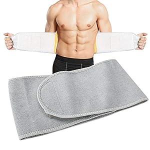 Taillenwärmer Gürtel Bauchstütze Warm Taille Trimmer Brace, Wärmetherapie Wrap für Lendenwirbelsäule Schmerzlinderung Rücken, Bauchwärmer Band