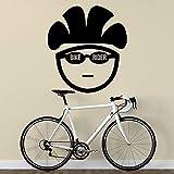Fai Da Te Personalità Bici Da Corsa Adesivo Da Parete Bicicletta Sport Palestra Decorazione Della Casa Del Vinile Adesivo Da Parete