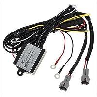 THG DC 12V LED de conducci¨®n diurna auto de la luz corriente DRL controlador cableado de rel¨¦