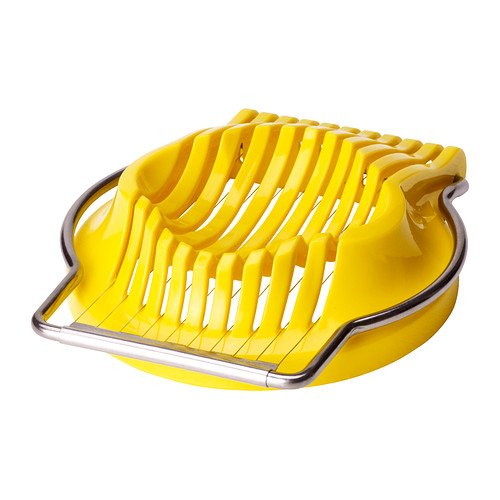 IKEA SLAT-Eierschneider, gelb