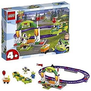 LEGO Juniors 4+ ToyStory4 OttovolanteCarnevalesco con Minifigure di Buzz Lightyear e Woody, 10771  LEGO
