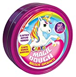 Craze 58917 - Intelligente Superknete, Magic Dough Unicorn, circa 80 g in Dose, BPA- und glutenfrei, Sortiert