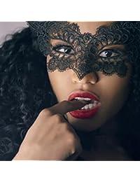 AIMEE7_Lencería Sexy Mujer Lenceria Erótica Mujer, AIMEE7 Cosplay Erótica Mascarada Máscara de Encaje Catwoman Erótica