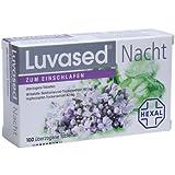 Luvased Nacht zum Einschlafen Tabletten, 100 St.