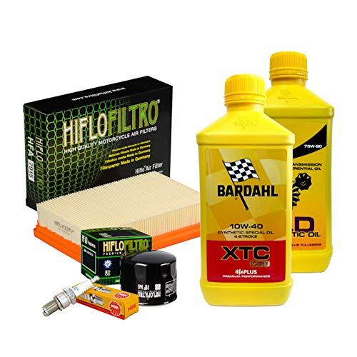 Tagliando Bardahl XTC 10W40 filtro olio aria candele cambio R 1200 GS R RS