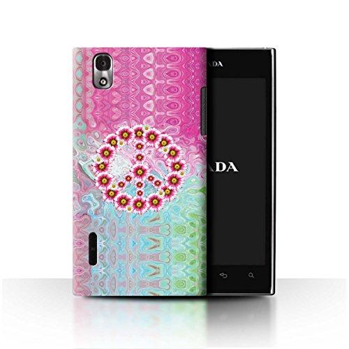 Stuff4® Hülle/Case für LG Prada 3.0/K2/P940 / Krawatte Farbstoff Marmor Muster/Hippie Hipster Kunst Kollektion -
