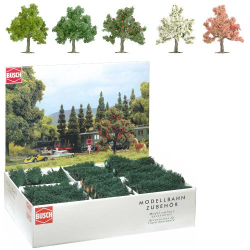 busch-6331-paquetes-a-granel-64-arboles-frutales-y-flores-ho