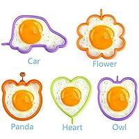Molde para hornear tortitas con forma de huevo de la marca IDEA High Panda: