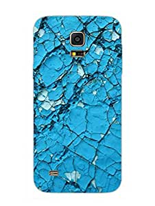 Samsung S5 Mini Cover - Crack Wall - Pattern - Designer Printed Hard Shell Case