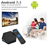 Easytone T95Z Plus Google TV BOX Android 7.1 Amlogic 912 Octa Core 2GB DDR3 16GB EMMC Android TV Box Support 2.4G/5G Dual Band WIFI 1000M LAN 4K 3D With Wireless Mini Keyboard