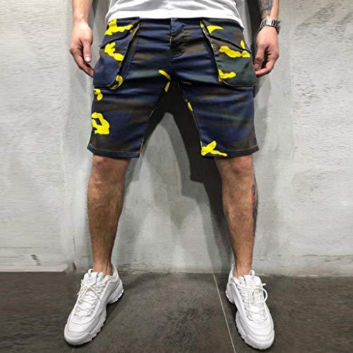 Werfen Kostüm Zusammen Sie - Dwevkeful Cargo Pant Herren Nherren New Style Baumwolle Multi-Pocket Overalls Shorts Fashion Quck Dry Atmungsaktiv Mit Bequemen Bermuda Fancy