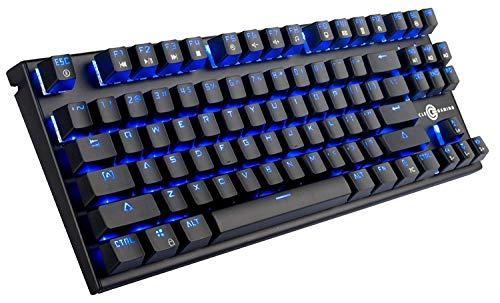 Circle Squadron M Metallic Black RGB Backlit Mode Mechanical Gaming Keyboard