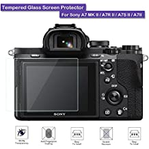 Fiimi Protector de pantalla de cristal templado LCD para Sony A7 MK II / A7R II / A7S II / A7II, dureza 9H, 0,3mm de espesor, fabricado en cristal