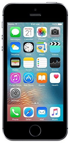 (CERTIFIED REFURBISHED) Apple iPhone SE MP822HN/A (Space Grey, 32GB)
