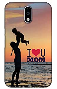 iessential Mom Printed Case For Moto G Plus 4Th Gen