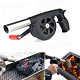 Best BBQ Parts Outlets - Outdoor Camping Bbq Grill Fan Air Blower Picnic Review