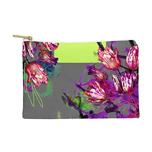 Bouquet of Tulips Leinwand Geldbörse Groß Herren Männer Damen Kartengeldbörse Geschenk für Männer Geschenke für Die Mädchen Junge Teenager Taschen Handtaschen -