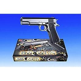 APEL PLASTIK S.r.l. Pistola Giocattolo a Pallini, Pistola BB Bullets, Calibro 6 mm, Inclusi Dardi(N268)