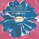Adagio;Symphonie N 1;The School For Scandal;Essays