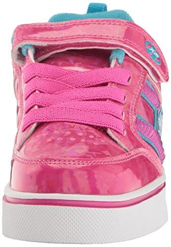 Heelys Mädchen X2 Bolt Plus Turnschuhe Pink (Hot Pink Hologram / Neon Blue)
