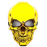 Totenkopf Maske Gold Skelett Mask