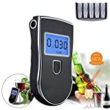 iPstyle Alkoholtester, Digital Breath Blut Alkohol Tester Proof Tragbare Polizei Digital Breath Hochpräzise Alkohol Tes