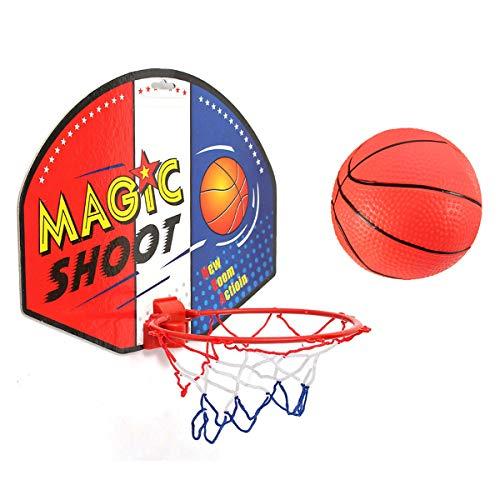 Heelinna Mini-Basketball-Set mit Spielzeug, tragbarer Basketballkorb