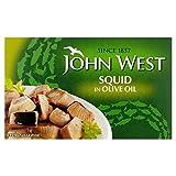 John West Calamari Olive 111g Olio (Confezione da 6)