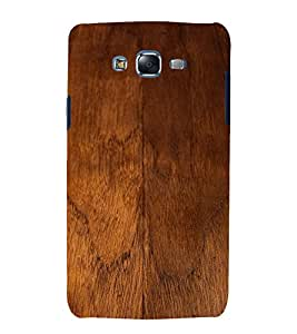 Fuson Designer Back Case Cover for Samsung Galaxy J7 J700F (2015) :: Samsung Galaxy J7 Duos (Old Model) :: Samsung Galaxy J7 J700M J700H (Wooden Woody Door Strong Brown)