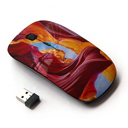 art-gear-raton-optico-24g-inalambrico-red-sky-caves-canyon-sand-sun