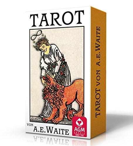 Premium Tarot von A.E. Waite (Tarotkarten im Pocketformat, 5,7 x 8,9 cm)