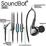 Soundbot SB302 Sports Headphones (Black)