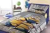 Faro Minions Niños Ropa de cama 140x 200cm almohada 70x 90cm Le...