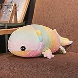 Peluche Colorido Dinosaurio Pez Juguetes De Peluche Relleno De Algodón Gigante Salamandra Muñeca De Juguete para Niños Almohadas Suaves 58 Cm