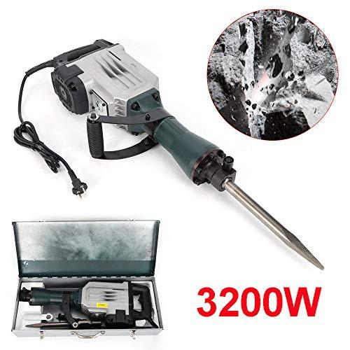 Abbruchhammer 3200W Stemmhammer Meißelhammer Schlaghammer Demolition Hammer DE