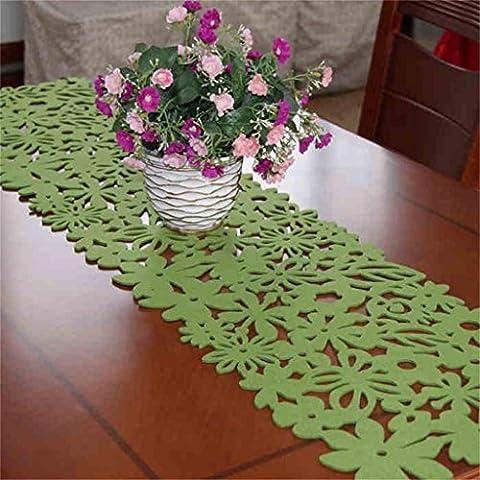 Global Pastoral sencilla y elegante flores largamente sentida mesa de arce mesa de café