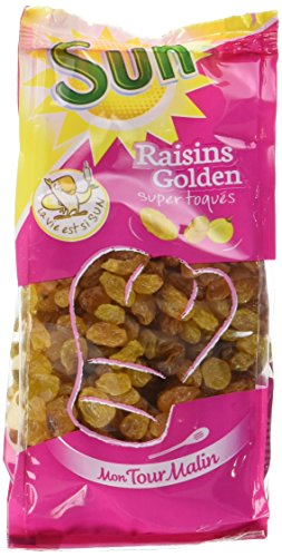 SUN Raisin Golden mon Tour Malin 300 g - Lot de 4